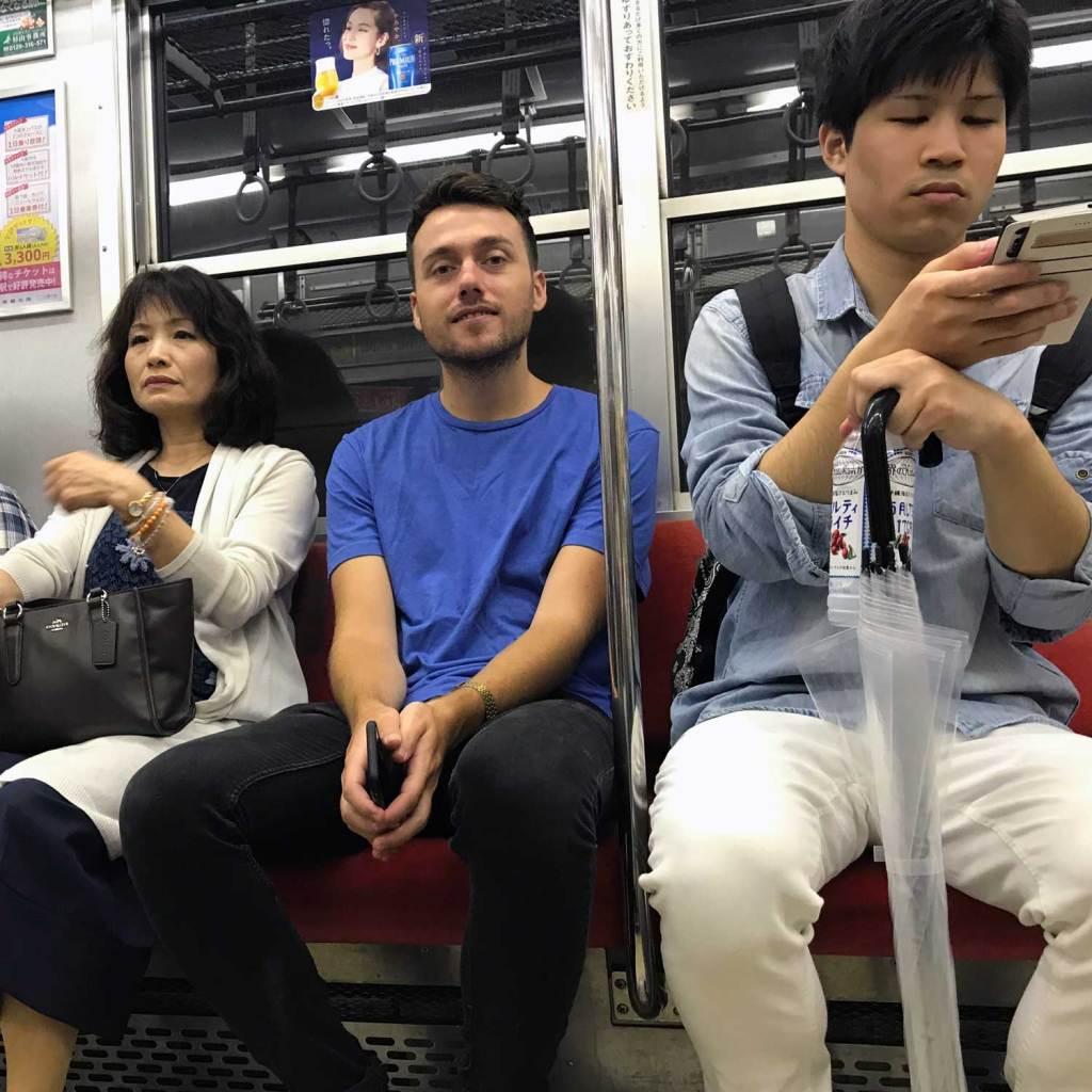 Japan Osaka Michel Metro