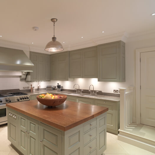 kitchen island with oven bench seating for chelsea painted