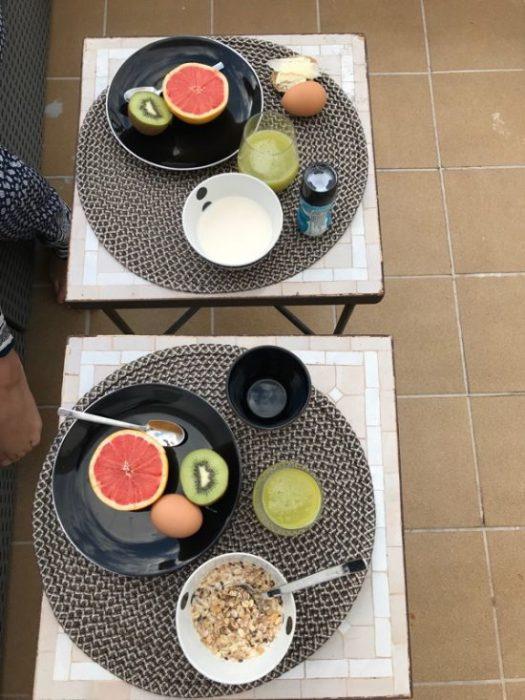 Frukost i Palma
