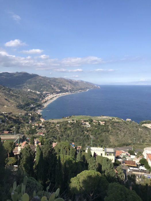 Utsikt Taormina