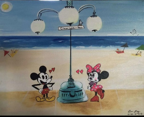 Mice at Clearwater Beach