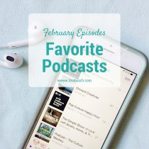 My favorite podcasts that I listened to in February 2017 – www.tinabusch.com