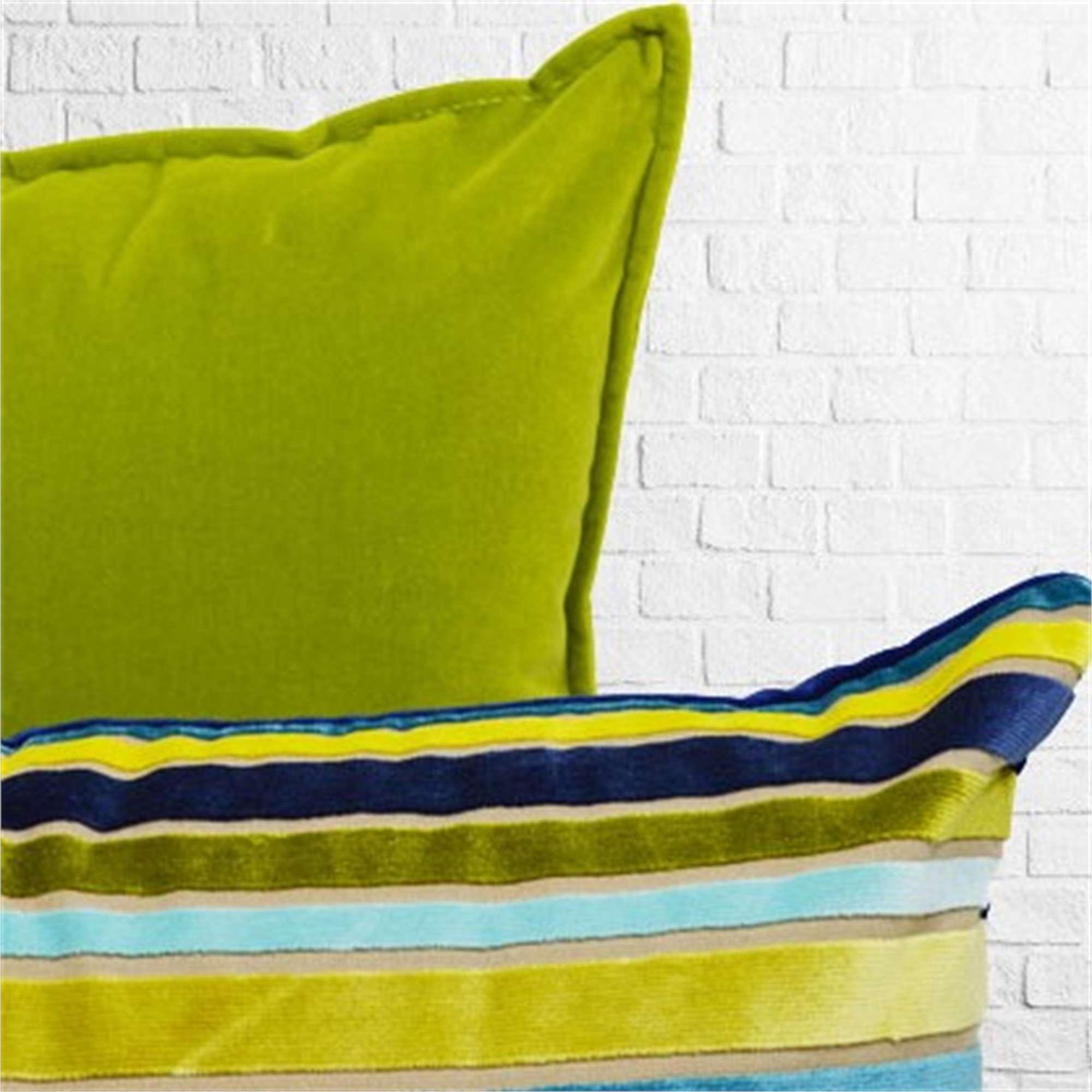 Completo cuscini verde e turchese  Tina Codazzo Home