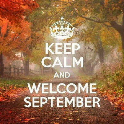 Do you remember the very first week of September?