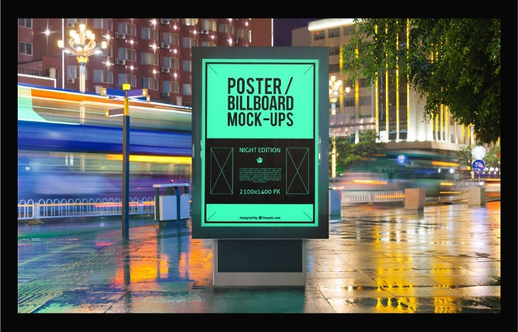 25 outdoor advertising mockup designs designs design trends