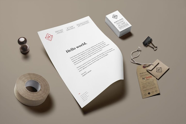 28 best letterhead mockups to improve brand identity colorlib