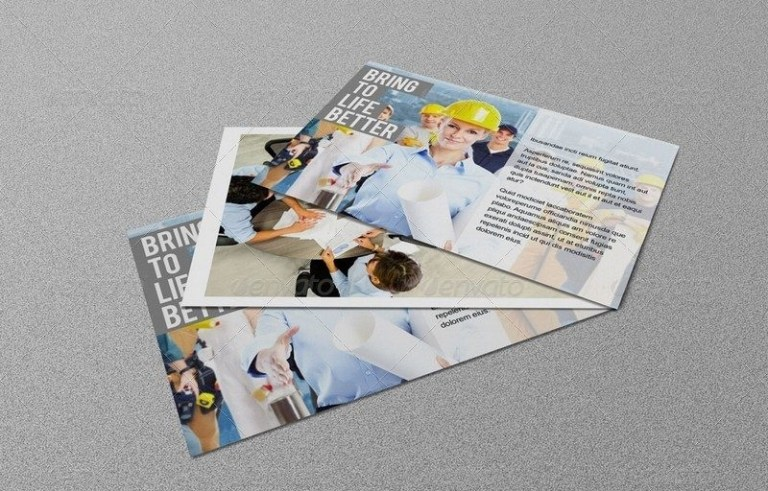 4x6 postcard mockup theveliger