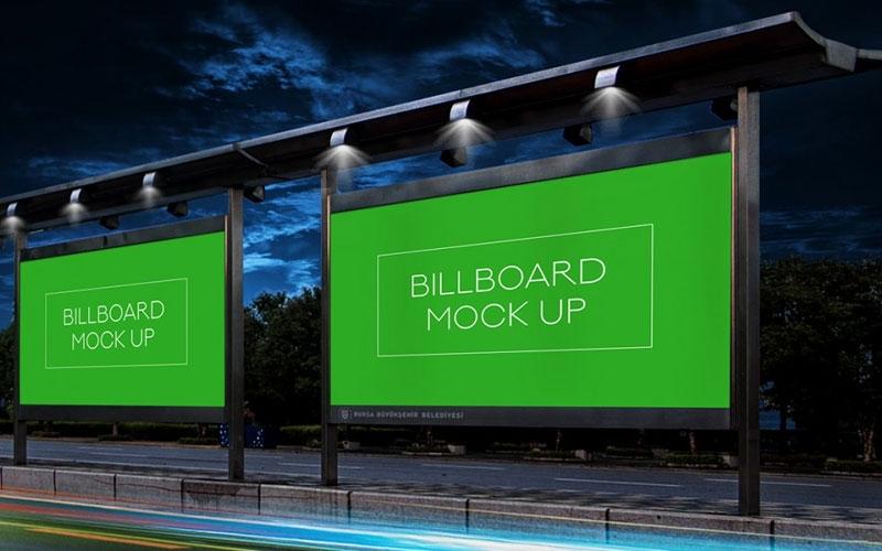 50 free outdoor billboard mockup psd files