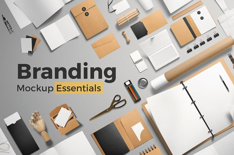 a collection of high quality free branding mockup psd downloads