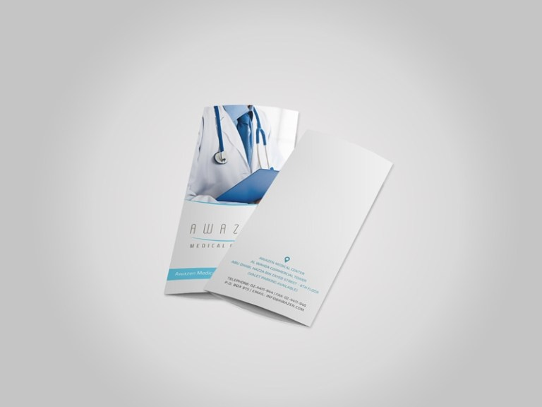 a4 trifold brochure mockup free psd template psd repo