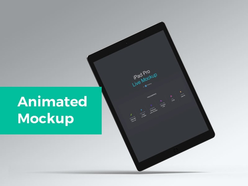 animated ipad pro mockup mockupworld