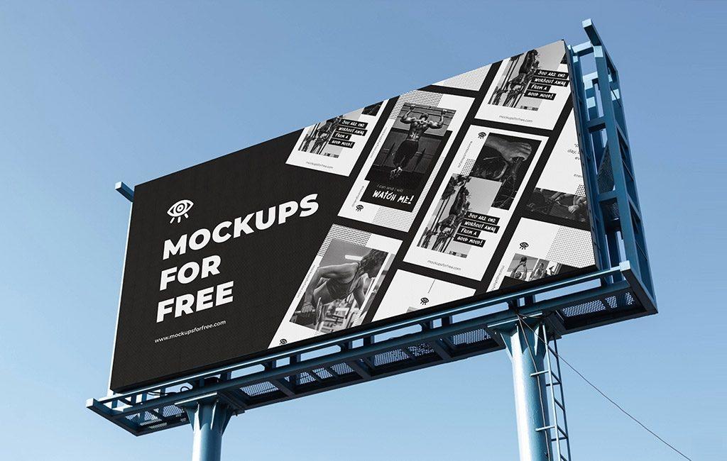 billboard mockup mockups for free