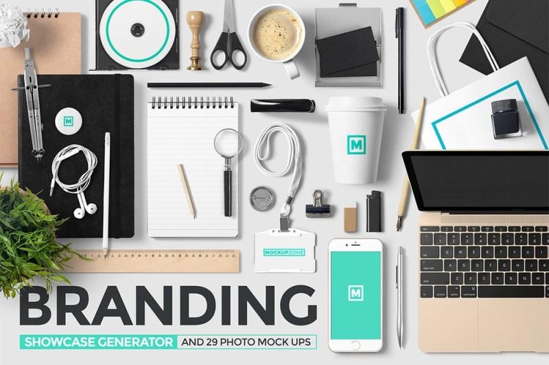 branding showcase generator mockup pack mockup zone