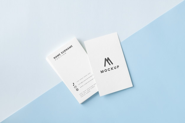 business card and name card mockup psd file free download