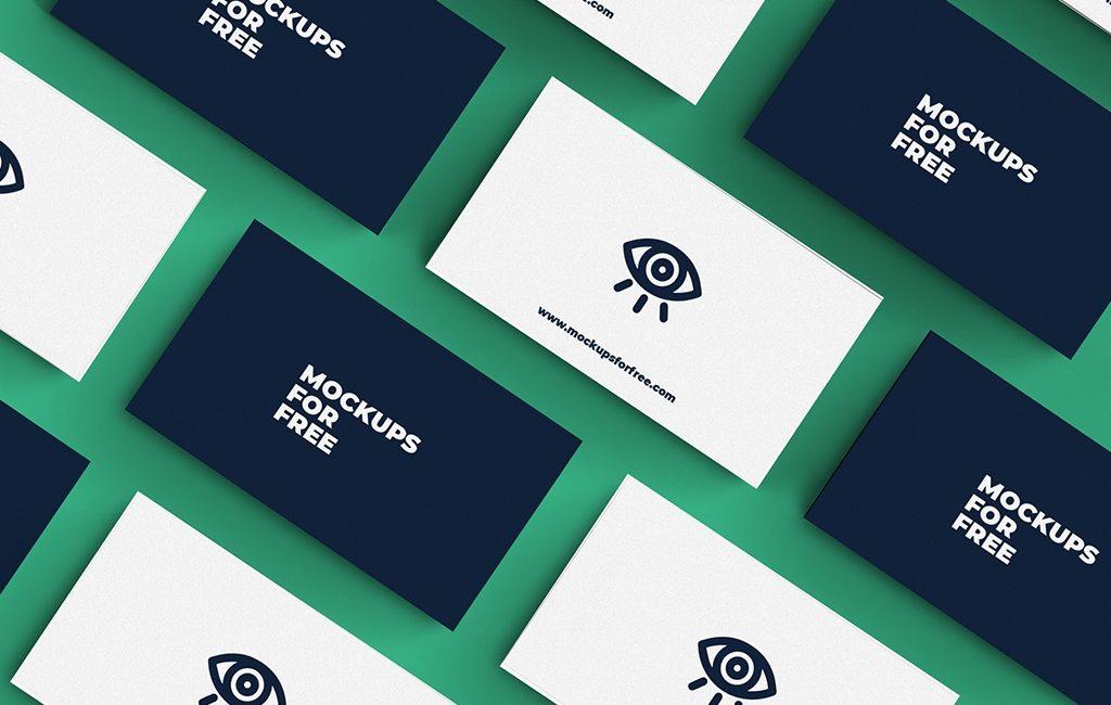 business cards mockup mockups for free