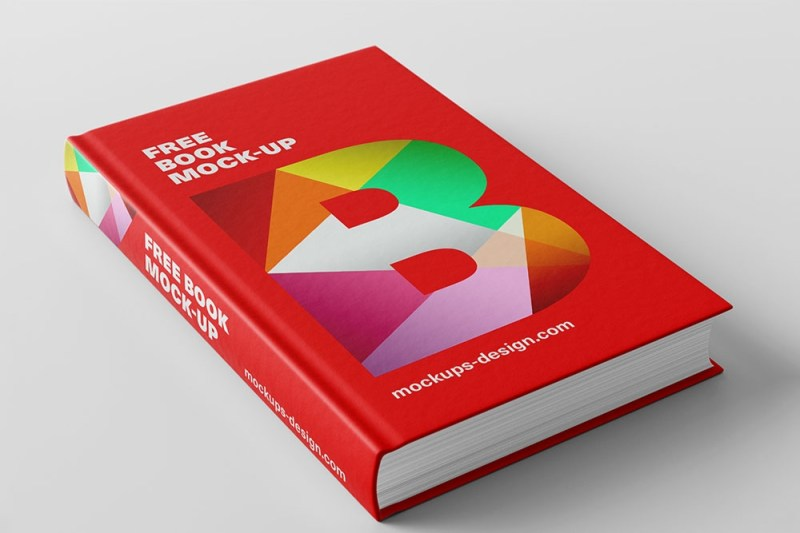 download this free book cover mockup for an appealing book cover