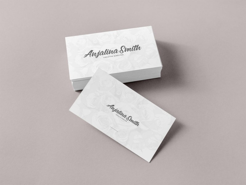free business card mockup free mockup