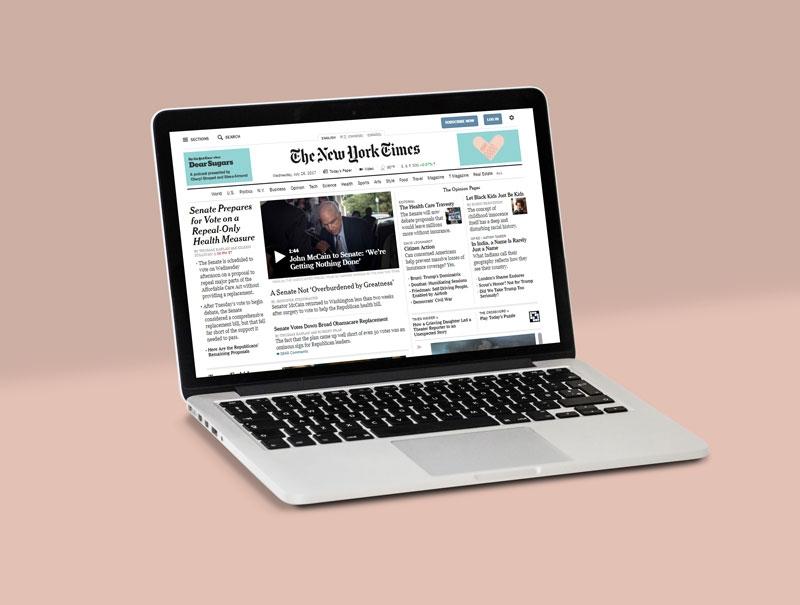 free fully customizable apple macbook pro mockup psd