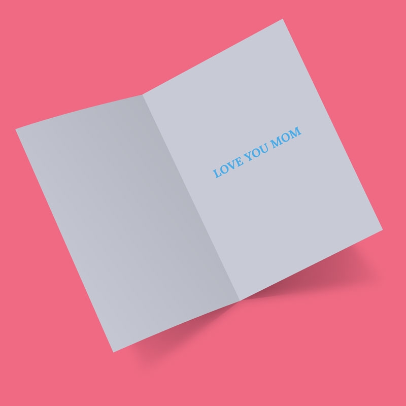 free greeting card mock up psd