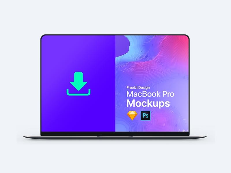 free macbook mockups for 2019 psd sketch ux planet