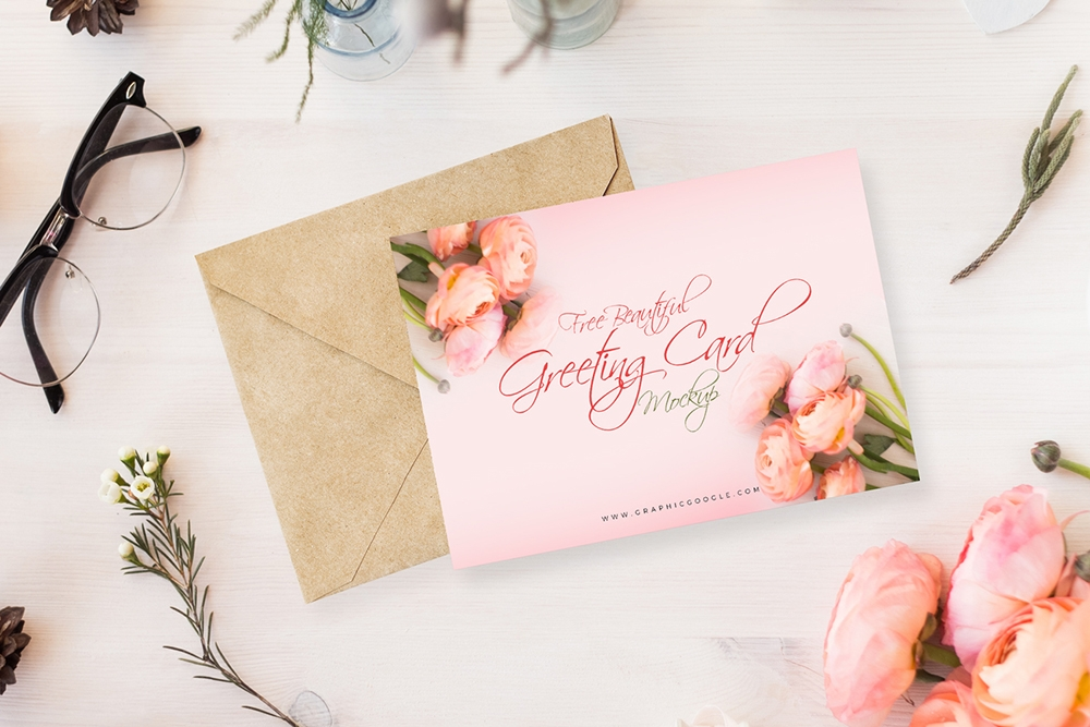 greeting card mockup pinspiry