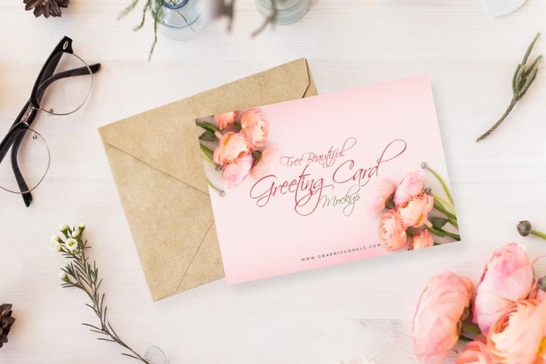 greeting card mockup pinspiry