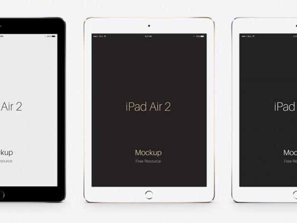ipad air 2 psd mockups freebiesbug