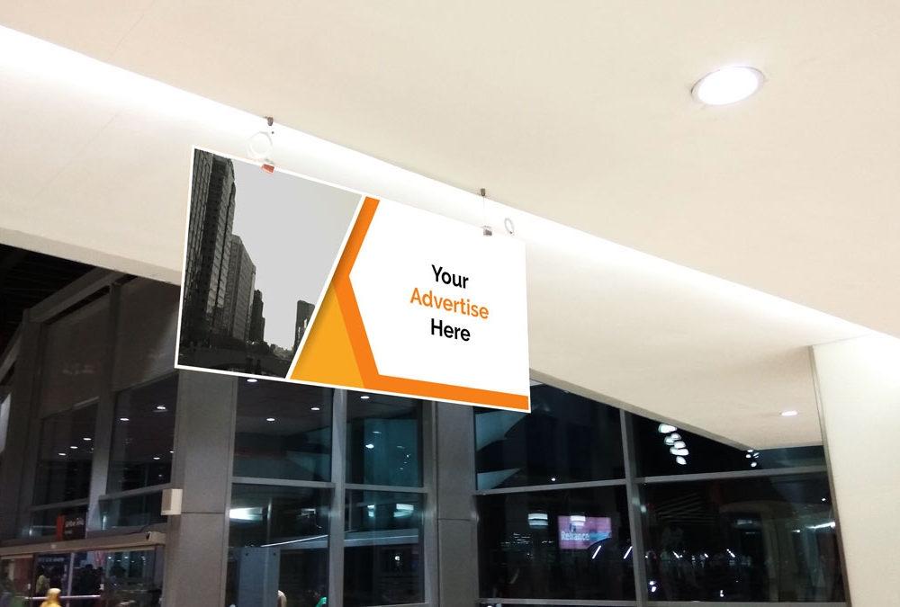mall advertising banner mockup mockupblast