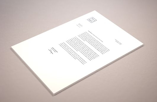perspective letterhead mockup psd smart object l a y o u t