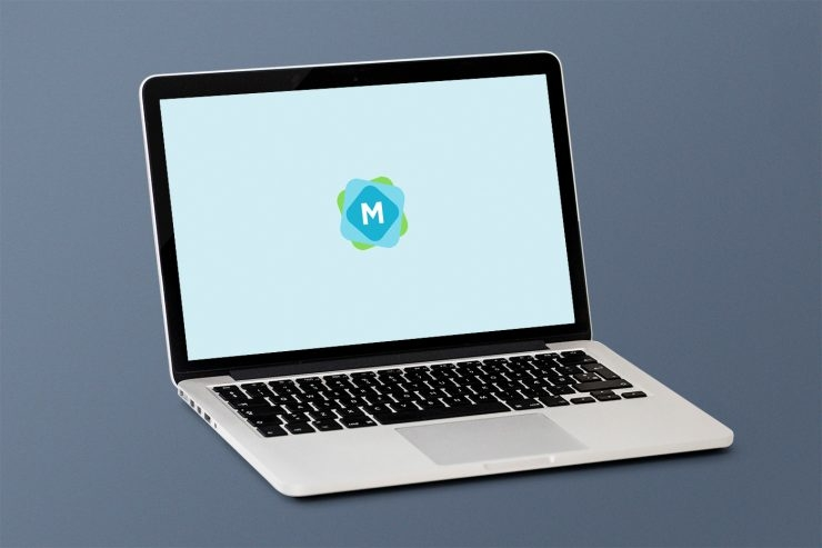 simple macbook mockup psd mockup templates