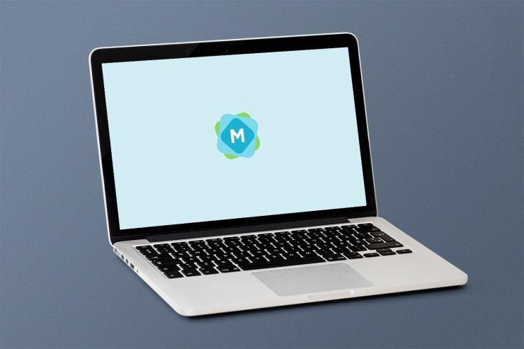 simple macbook mockup psd mockup templates
