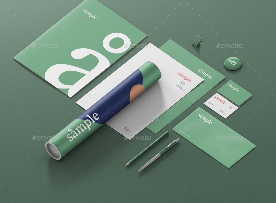 stationery branding mockup creator visconbiz graphicriver