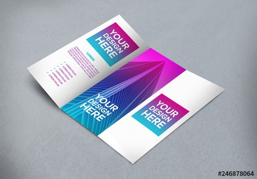 tri fold brochure mockup buy this stock template and explore