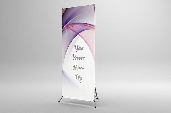 x banner mockup mockup store