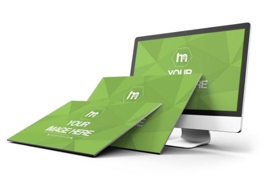 3d website screens and monitor mockup generator sharetemplates
