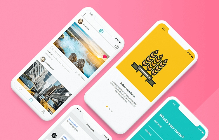 7 free mobile app mockup templates download now justinmind