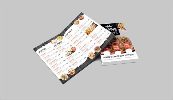 7 menu mockups editable psd ai vector eps format download free