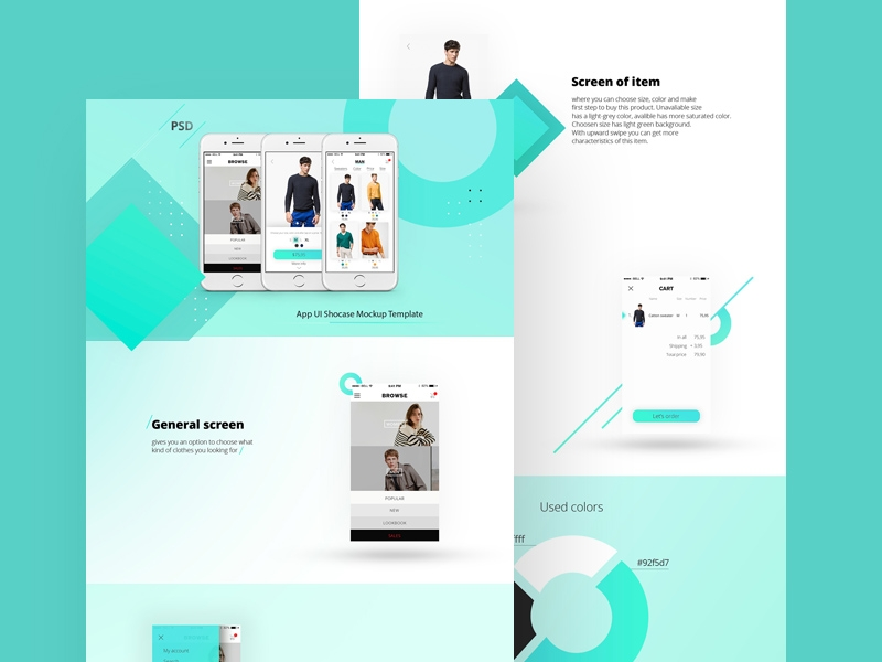 app showcase mockup template free psd template psd repo