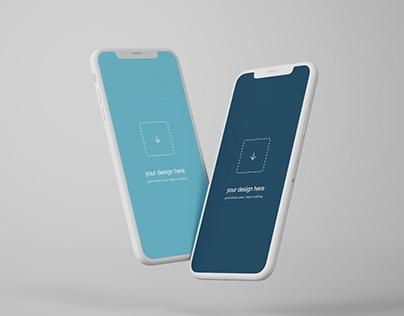 best free mobile phone mockups on behance