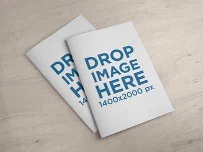 booklet mockup generator try 15k mockups for free placeit