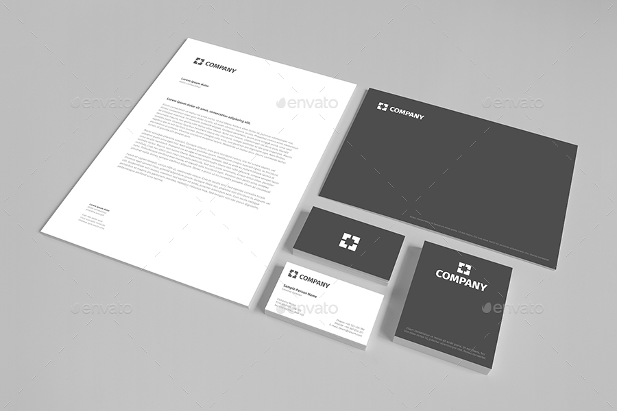 branding stationery mockup vol 1 mileswork graphicriver