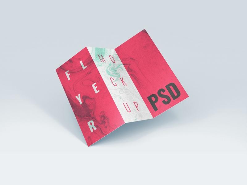 brochure flyer mockup free psd template psd repo