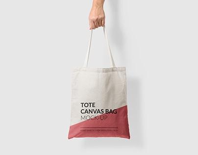 canvas tote bag mock up vol2 on behance