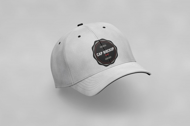 cap mockup psd file free download
