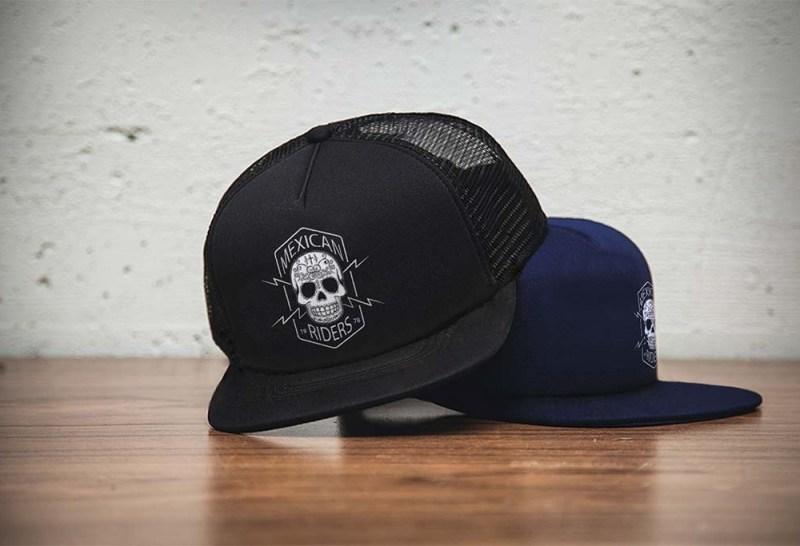 caps logo mockup mockupworld