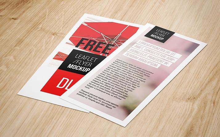 dl flyer mockup mockups design free premium mockups