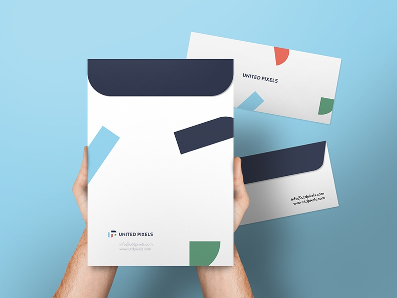 envelope a4 folder mockup free psd template psd repo