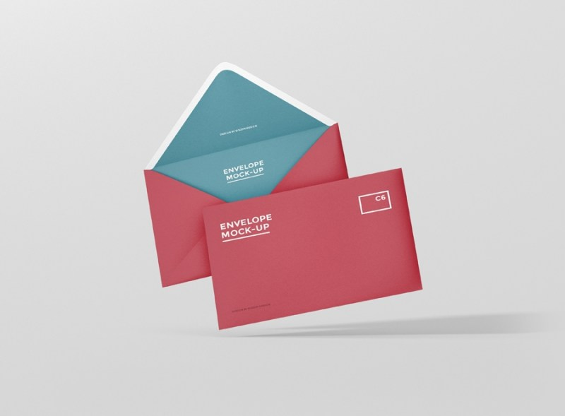 envelope c6 mock up premium and free mockups for your awesome
