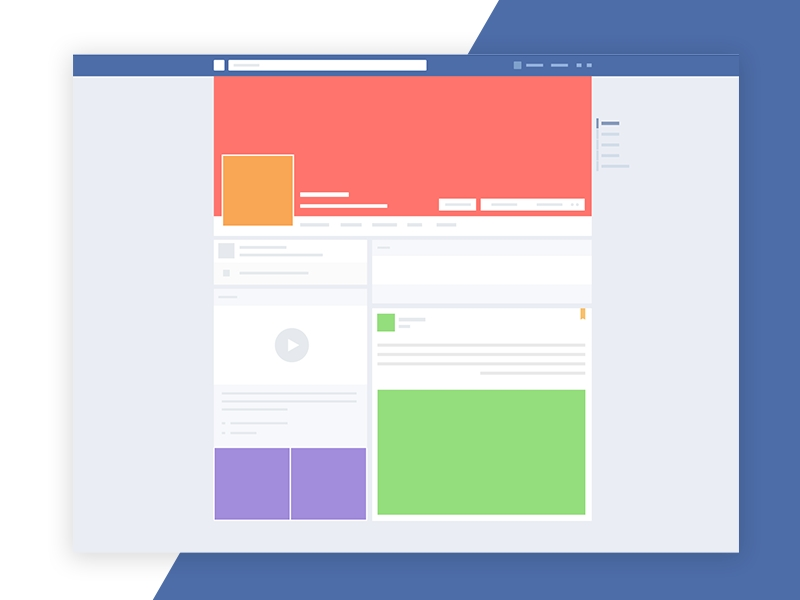 facebook mockup screen free psd 72pxdesigns