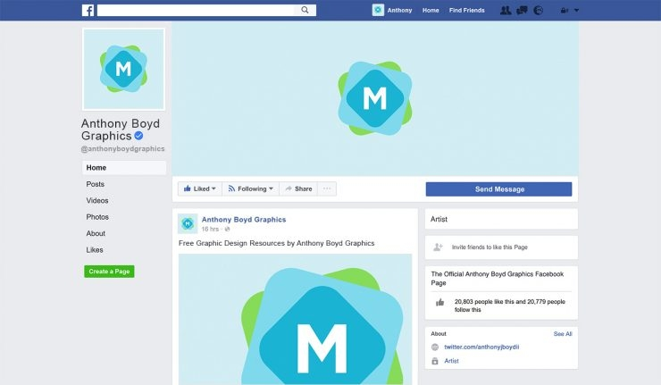 facebook page mockup 2017 mockup templates